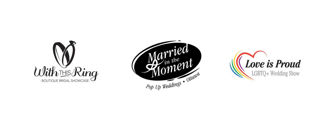 Wedding show logos (client: ITM Events)